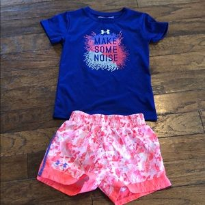 Girls Under Armour outfit 6/6x